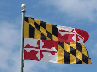 Picture of MD Flag - This is an image of the Maryland State flag.